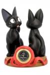 Kikis kleiner Lieferservice Tischuhr Jiji & Soft Toy Jiji 11 cm