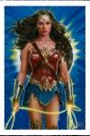 DC Comics Kunstdruck Wonder Woman: Lasso of Truth 46 x 61 cm - ungerahmt Weltweit limitiert auf 600 Stück!