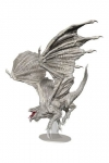 D&D Icons of the Realms Premium Miniatur vorbemalt Adult White Dragon