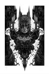 DC Comics Kunstdruck Batman 46 x 61 cm - ungerahmt  Weltweit limitiert auf 450 Stück!