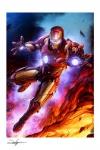 Marvel Kunstdruck Iron Man 46 x 61 cm - ungerahmt  Weltweit limitiert auf 400 Stück!