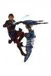 Star Wars The Clone Wars Actionfigur 1/6 Anakin Skywalker & STAP 31 cm