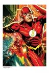 DC Comics Kunstdruck The Flash 46 x 61 cm - ungerahmt Weltweit limitiert auf 350 Stück!
