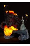 Herr der Ringe LED-USB-Lampe The Balrog Vs Gandalf 41 cm