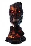 Terminator 2 - Tag der Abrechnung Replik 1/1 T-800 Endoskelett Maske Battle Damaged Version 46 cm Weltweit auf 2029 Stück limitiert!