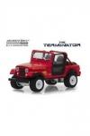Terminator Diecast Modell 1/18 1983 Jeep CJ-7 Renegade mit Figur