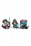 Court of the Dead Court Statuen Court-Toons Kier, Relic Ravlatch, & Malavestros: Court-Toons Collec
