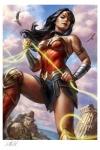 DC Comics Premium Kunstdruck Wonder Woman #755 46 x 61 cm - ungerahmt Weltweit limitiert auf 500 Stück!