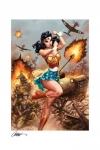 DC Comics Premium Kunstdruck Wonder Woman #750: WWII 46 x 61 cm - ungerahmt Weltweit limitiert auf 250 Stück!