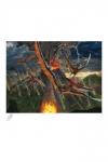 Original Artist Series Kunstdruck Eruption by Vincent Hie 41 x 51 cm - ungerahmt Weltweit limitiert auf 150 Stück!