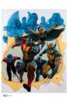Marvel Kunstdruck Giant-Size X-Men 56 x 67 cm - ungerahmt Weltweit limitiert auf 450 Stück!
