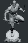 Marvel Contest Of Champions Video Game PVC Statue 1/10 Deadpool 24 cm