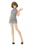 Original Character Figma Actionfigur Female Body Chiaki with Backless Sweater Outfit 13 cm
