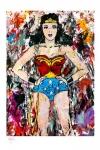 DC Comics Kunstdruck Golden Age Wonder Woman 46 x 61 cm - ungerahmt Weltweit limitiert auf 275 Stück!