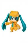 Character Vocal Series 01 Nendoroid Actionfigur Hatsune Miku: Kigurumi Agumon Ver. 10 cm