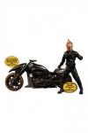 Ghost Rider Actionfigur & Fahrzeug mit Sound und Leuchtfunktion 1/12 Ghost Rider & Hell Cycle