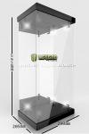 Master Light House Acryl Display Case mit Beleuchtung für 1/4 Actionfiguren (schwarz)