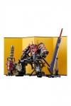 Mazinkaiser Hagane Works Diecast / PVC Actionfigur Mazinkaiser Haou: Mazin Set 17 cm