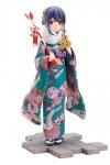 Laid-Back Camp PVC Statue 1/7 Rin Shima Furisode Ver. 21 cm