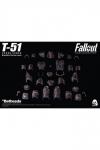 Fallout 4 Zubehör-Set T-51 Power Armor Blackbird für Actionfiguren Power Armor