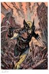Marvel Kunstdruck Wolverine 46 x 61 cm - ungerahmt  Weltweit limitiert auf 375 Stück!