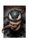 Marvel Kunstdruck Venom 46 x 61 cm - ungerahmt Weltweit limitiert auf 400 Stück!