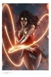 DC Comics Kunstdruck Wonder Woman 46 x 61 cm - ungerahmt   Weltweit limitiert auf 375 Stück!