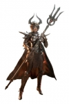 Knight of Fire Actionfigur 1/6 Silver Edition 30 cm