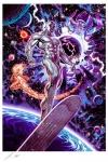 Marvel Comics Kunstdruck Heralds of Galactus 46 x 56 cm - ungerahmt  Weltweit limitiert auf 450 Stück!