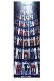 Marvel Kunstdruck Iron Man: Hall of Armor GITD 41 x 99 cm - ungerahmt Weltweit limitiert auf 425 Stück!
