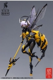 GN Project Plastic Model Kit 1/12 BEE-03W Wasp Girl - Bun chan 17 cm