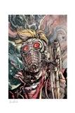 Marvel Kunstdruck Star-Lord 46 x 61 cm - ungerahmt Weltweit limitiert auf 300 Stück!