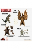 Godzilla: Frankenstein und die Monster aus dem All 5 Points XL Actionfiguren Deluxe Box Set Round 2