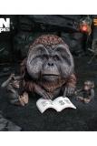 Planet der Affen: Revolution Deform Real Series Soft Vinyl Statue Maurice Deluxe Version 15 cm