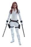 Black Widow Movie Masterpiece Actionfigur 1/6 Black Widow Snow Suit Version 28 cm