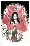 Marvel Comics Kunstdruck Demon Days: Mariko & Black Widow 46 x 61 cm - ungerahmt  Weltweit limitiert auf 250 Stück!