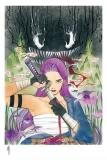 Marvel Comics Kunstdruck Demon Days: X-Men Psylocke 46 x 61 cm - ungerahmt   Weltweit limitiert auf 300 Stück!