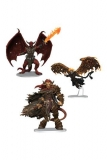 D&D Icons of the Realms Miniaturen vorbemalt Archdevils - Bael, Bel, and Zariel