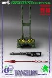 Evangelion: New Theatrical Edition Robo-Dou Zubehör-Set für Actionfiguren Accessory Pack
