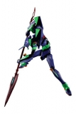 Evangelion 3.0+1.0 DYNACTION Actionfigur Test Type-01 + Spear of Cassius (Renewal Color Ed.) 40 cm