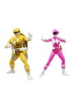 Power Rangers x TMNT Lightning Collection Actionfiguren 2022 Morphed April O´Neil & Michelangelo