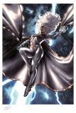 Marvel Kunstdruck Storm 46 x 61 cm - ungerahmt  Weltweit limitiert auf 375 Stück!