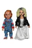 Chucky und seine Braut Clothed Actionfiguren Doppelpack Chucky & Tiffany 14 cm