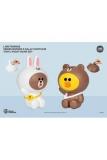 Line Friends Series Piggy Vinyl Spardosen 2er-Pack Brown & Sally 21 - 25 cm