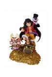 One Piece FiguartsZERO PVC Statue Monkey D. Luffy by Eiichiro Oda WT100 Daikaizoku Hyakkei 19 cm