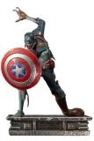 What If...? Art Scale Statue 1/10 Captain America Zombie 22 cm