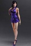 Final Fantasy VII Remake Play Arts Kai Actionfigur Tifa Lockhart Dress Ver. 25 cm