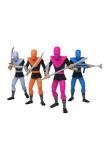 Teenage Mutant Ninja Turtles BST AXN Actionfiguren 4er-Pack Foot Soldiers 13 cm
