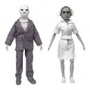 Twilight Zone Retro Actionfiguren Set Serie 6 Alien & Nurse 20 c