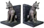 Game of Thrones Buchstützen Schattenwölfe 20 cm